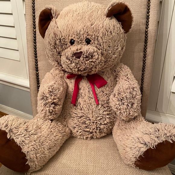 Blue Big Teddy Bear, Hugfun Toys Int Teddy Bear Plush Toy Stuffed Animal Poshmark